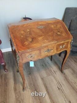 Late 19th Century Italian Rococo Secretary Desk