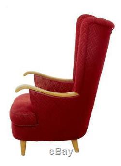 Late Art Deco Shell Back Armchair
