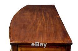 Late George III Inlaid Mahogany Bowfront Sideboard