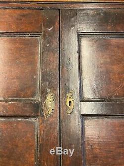 Late Georgian Welsh Antique Oak Dresser, Sideboard, Cupboard