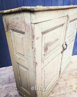 Late Victorian Pitch Pine Cupboard