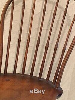 Original Antique Late 1700s/Early 1800s Bow Back Windsor Chair-Outstanding