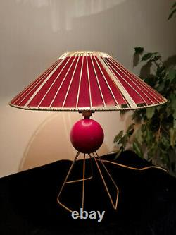 Sputnik Inspired Late 1950's/Early 60's Table Lamp J. S. Peress