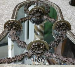 Venetian Italian Carved Wood Mirror withShelves Late 19th/E. 20th Century