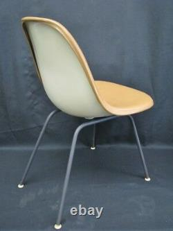 Vintage Late'50s-Early'60s Herman Miller DSX-1 Chair, Original Naugahyde (A)