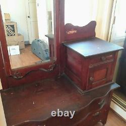 Vintage Vanity, Makeup Table, Beautiful. Pre century late 1800s