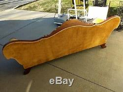 Vintage late 1800's Victorian Rosewood Sofa