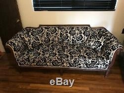 Vintage late 1800's Victorian Sofa Beautiful