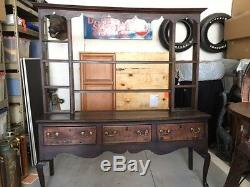 Welsh Cabinet Antique Circa late 1600's 1700's